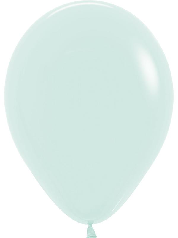 Latex Balloons Pastel Matte Solid Green