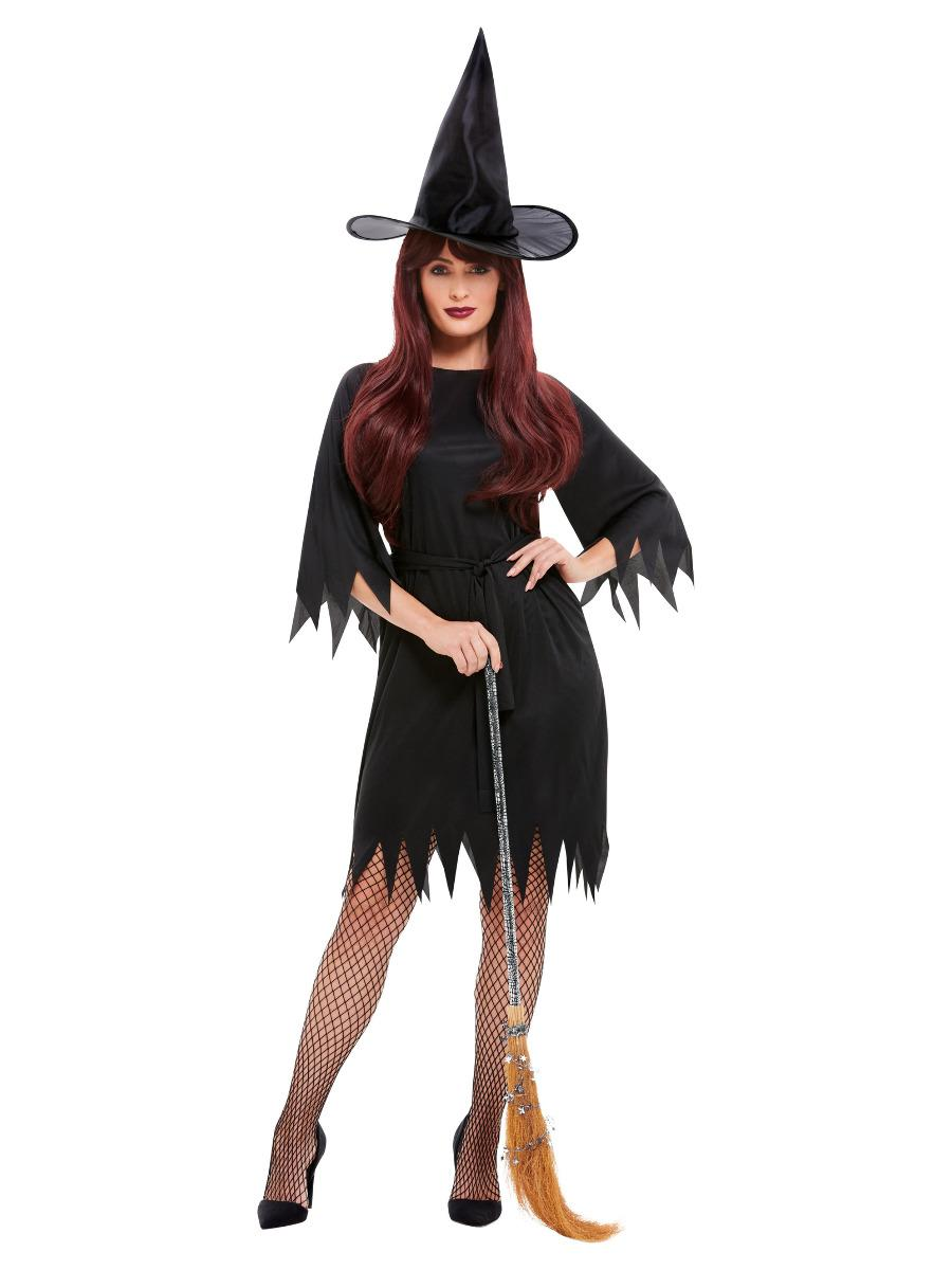 Spooky Witch Costume Black