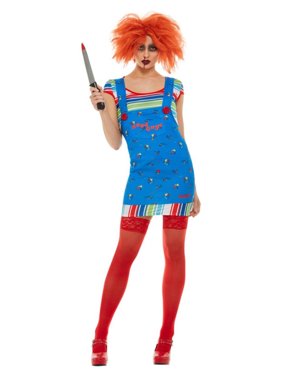 Chucky Costume Ladies