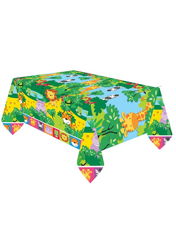 Paper Table Cover Jungle Friends