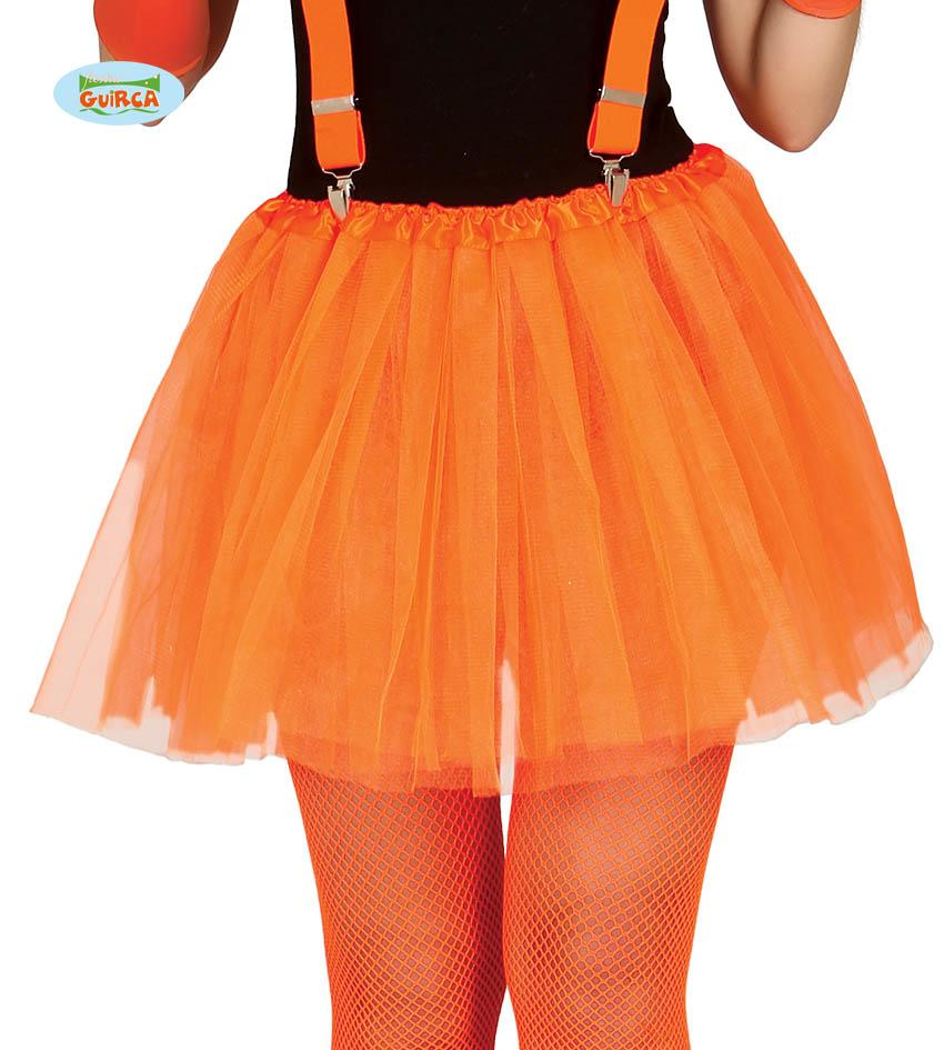 Adult Tutu Neon Orange 40cm