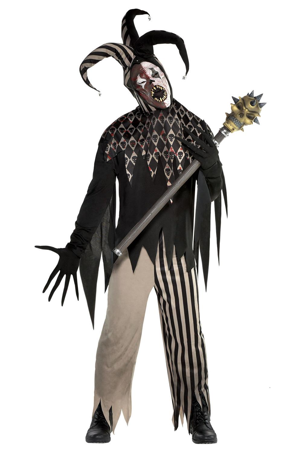 Twisted Jester Man Costume