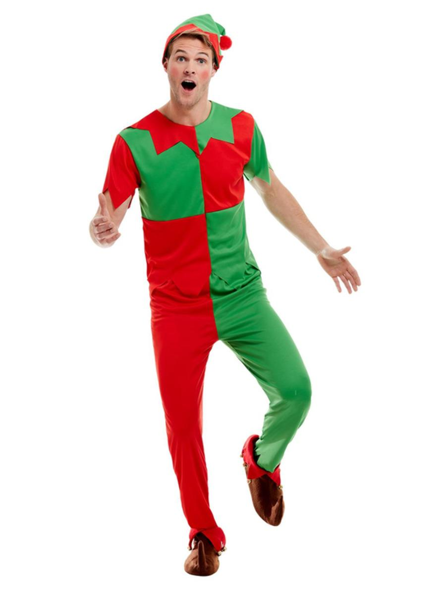 Elf Costume Green & Red