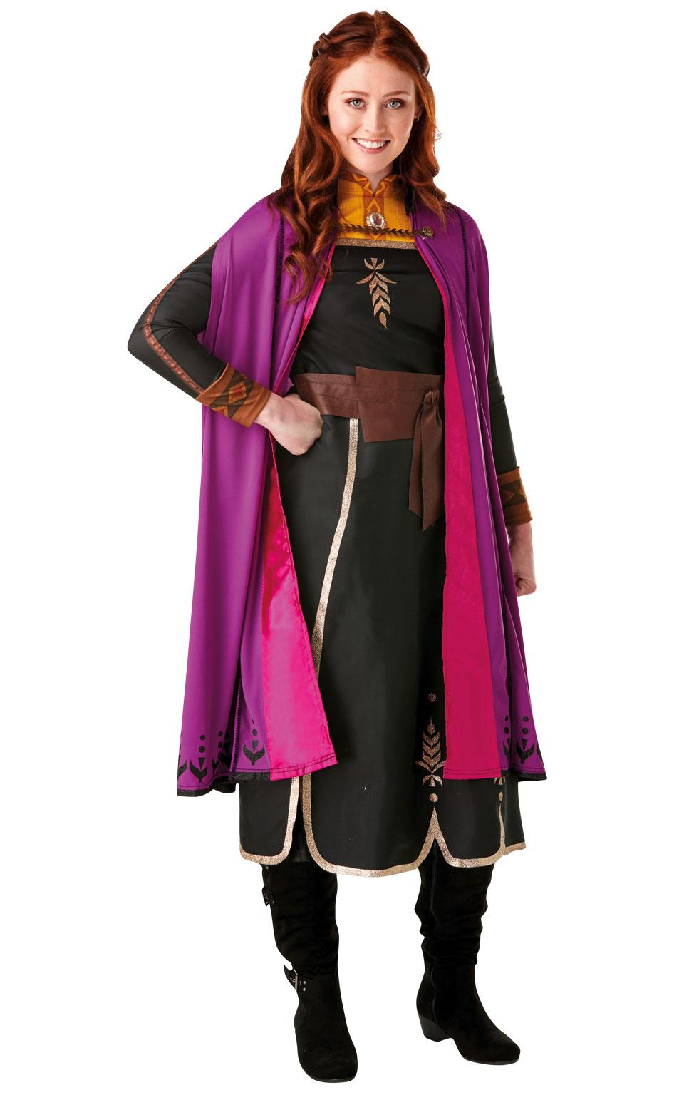 Frozen 2 Adults Anna Travel Costume