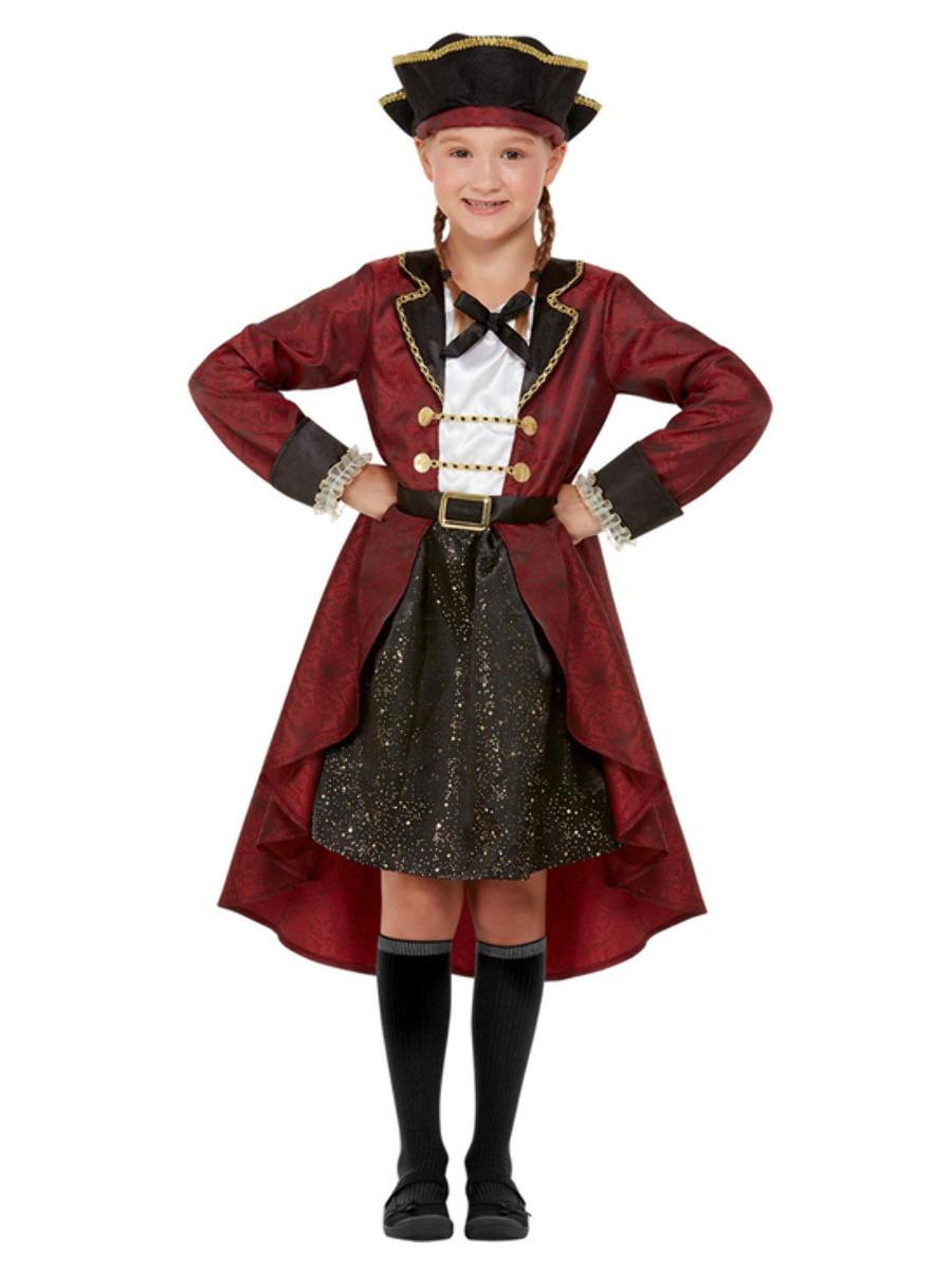 Kids Swashbuckling Pirate Girl Costume