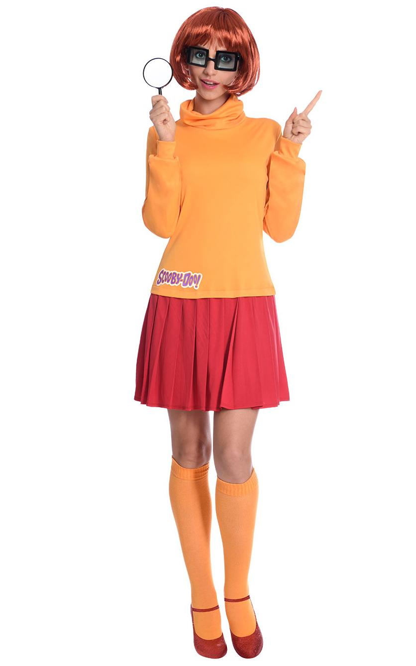 Scooby Doo Velma Adult Costume