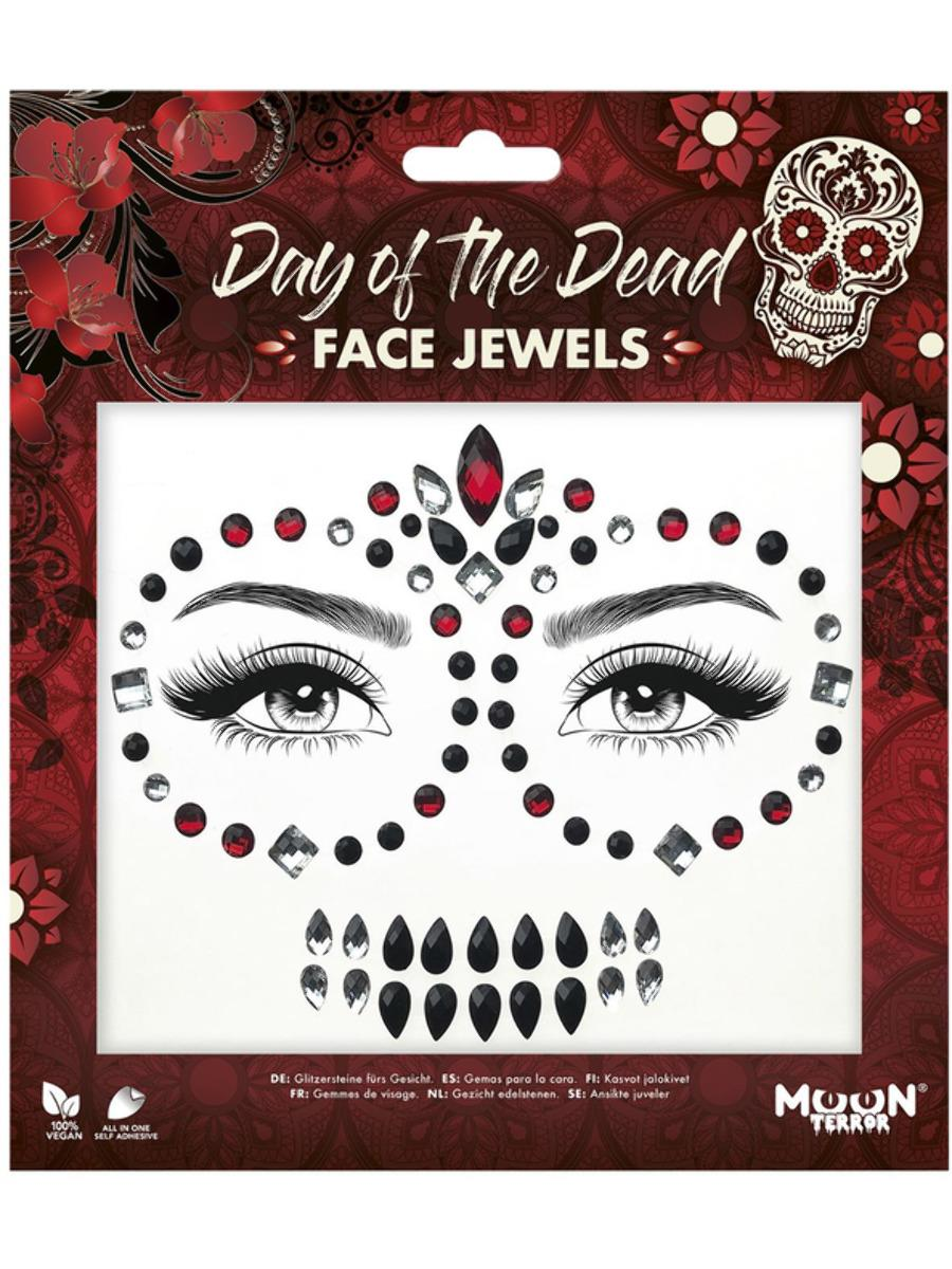 Glitter Face Jewels Day of the Dead
