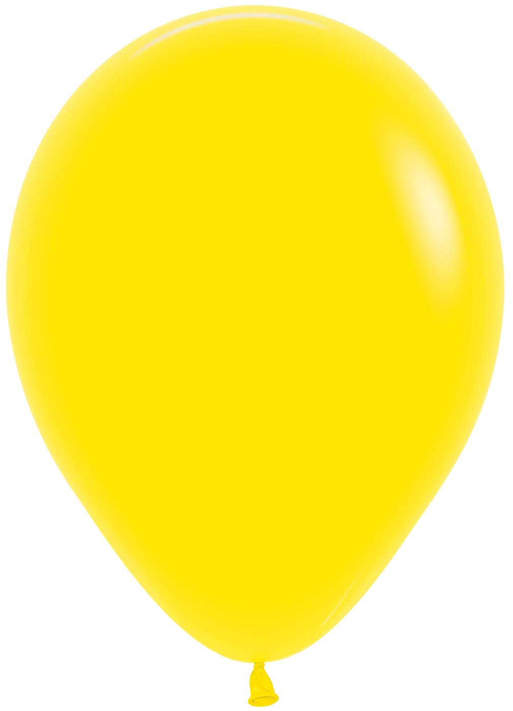 Standard Latex Balloons Yellow