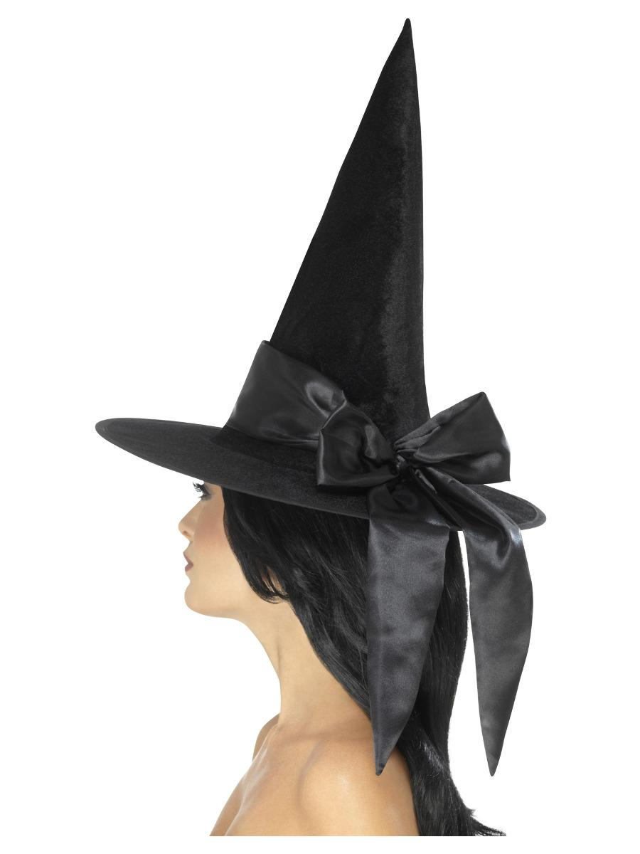 Deluxe Witch Hat Black