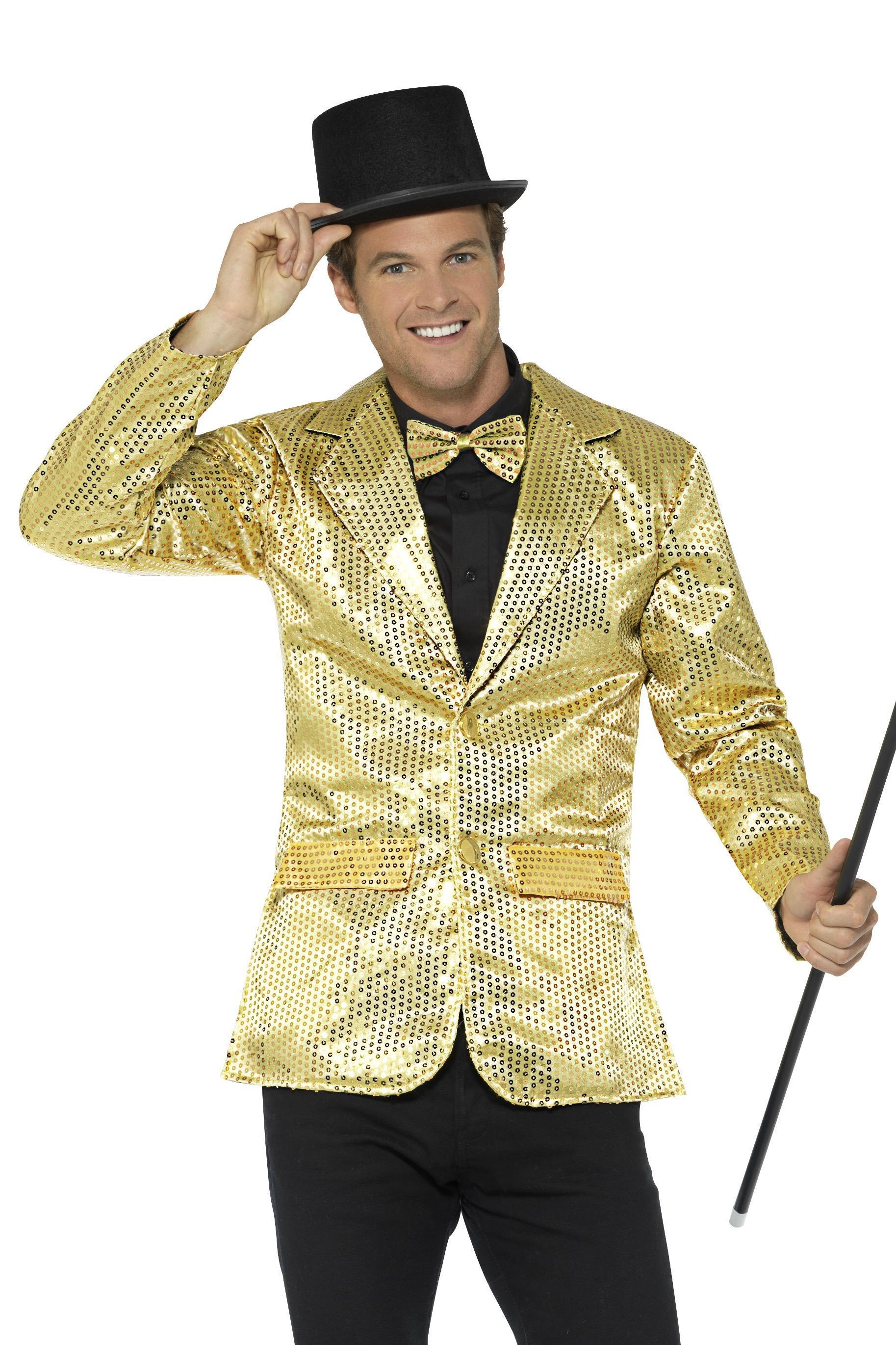 Sequin Jacket Gold