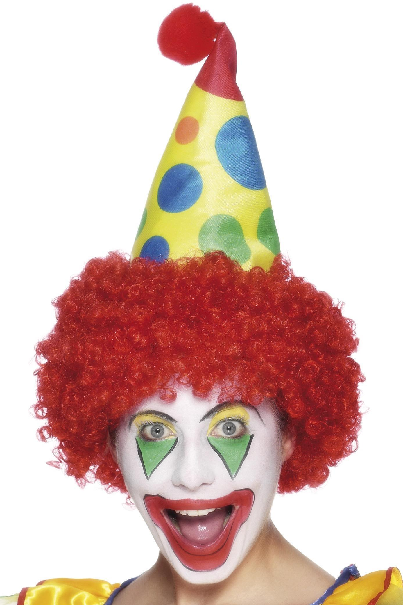 Clown Hat with Hair