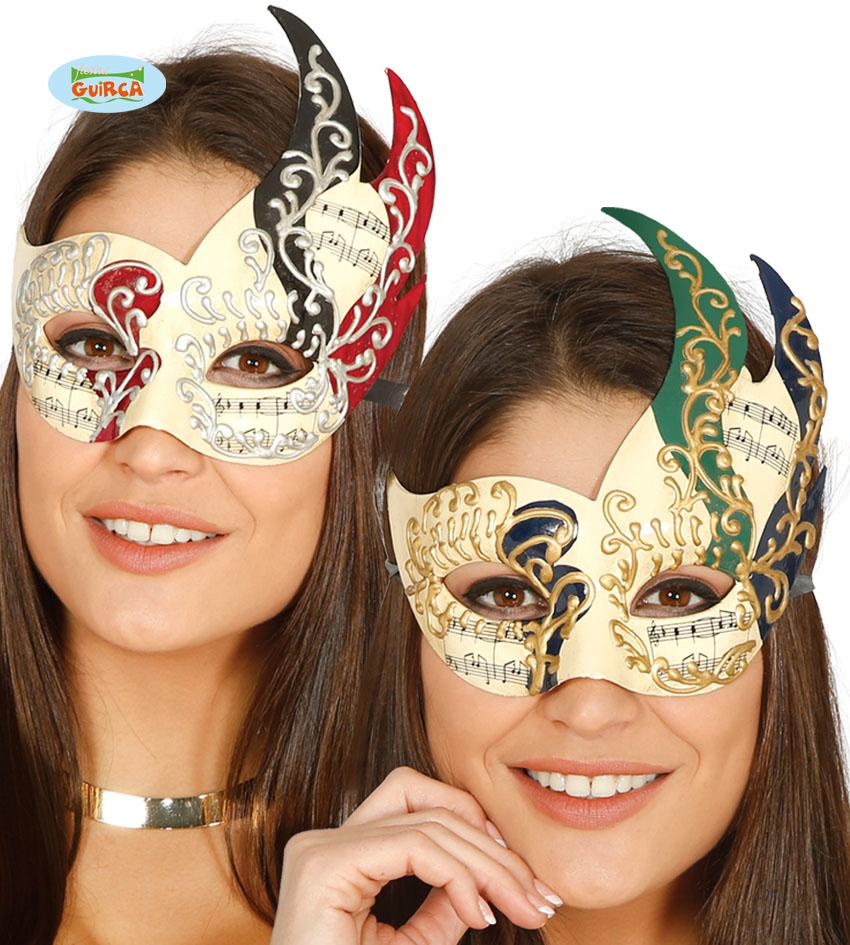 Decorated Venetian Eye Mask