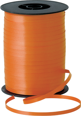 Balloon Curling Ribbon Orange
