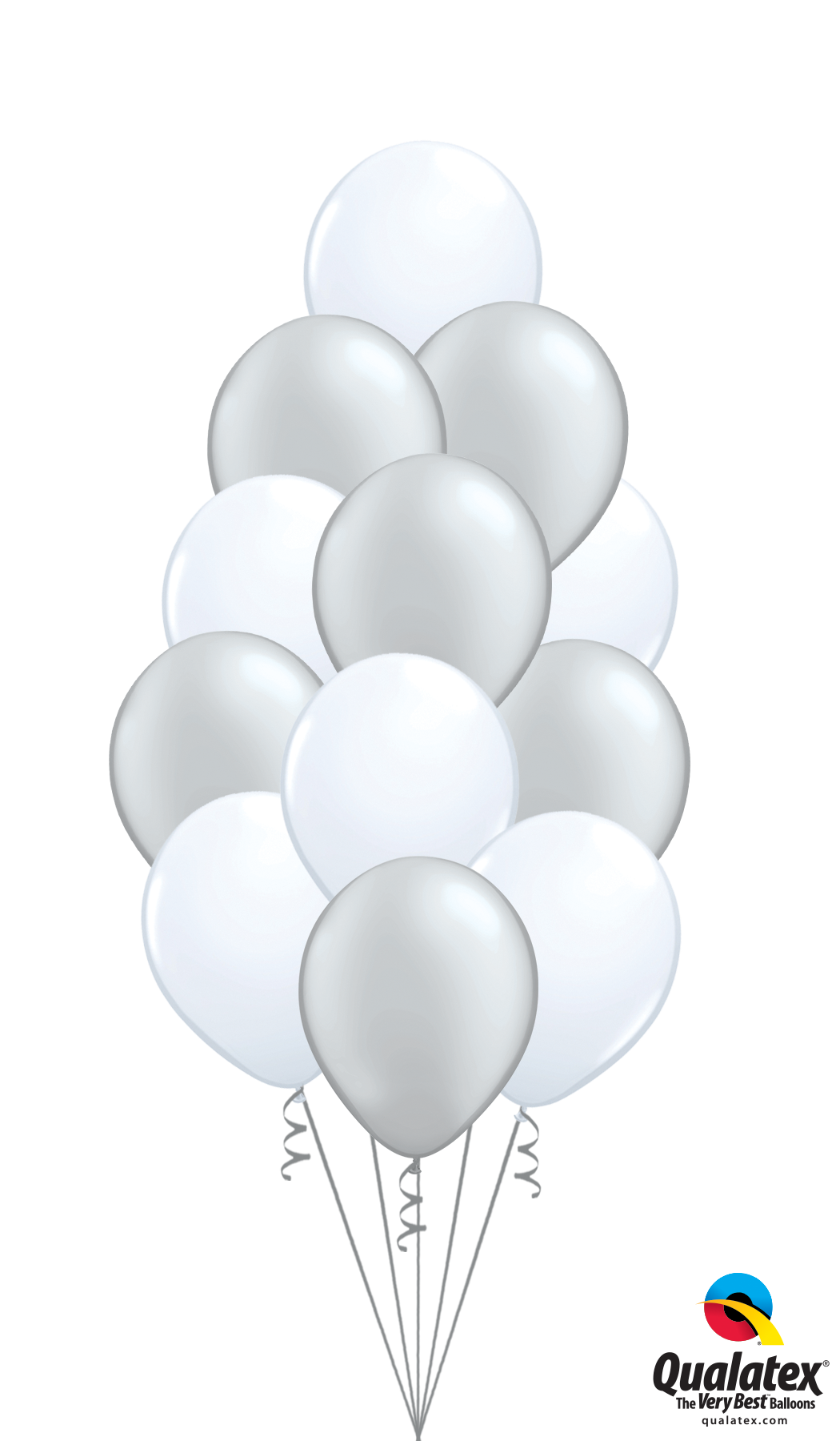 Bouquet of 12 Latex Balloons