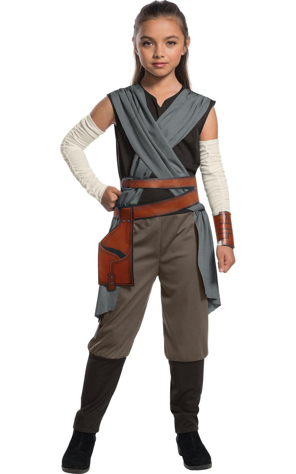 Deluxe Rey Costume Kids Star Wars