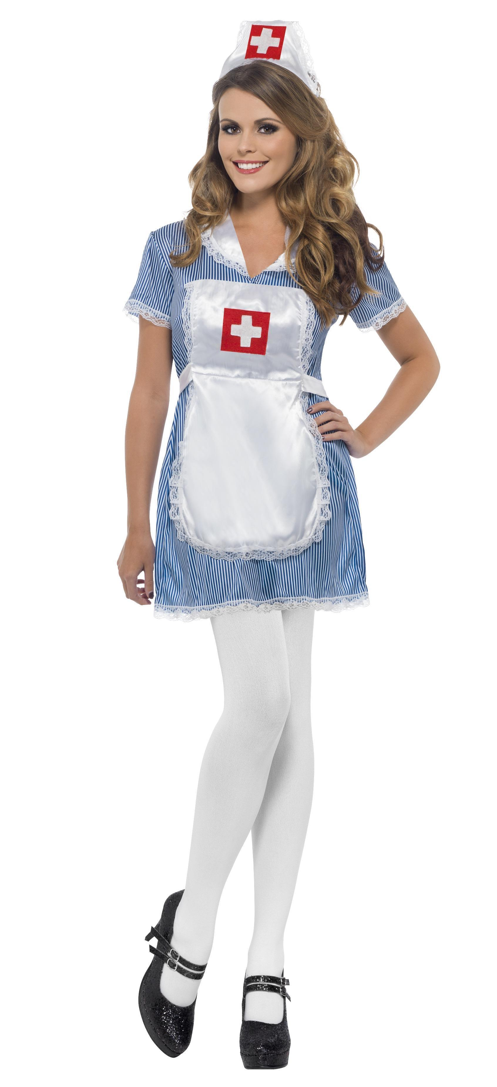 Nurse Naughty Costume Blue