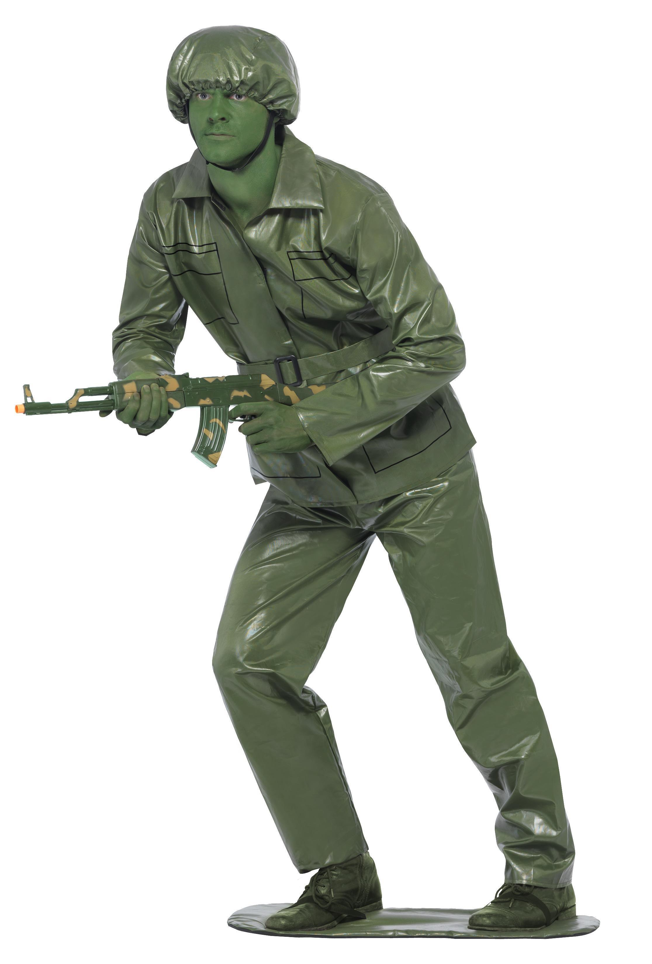 Toy Soldier Costume Green