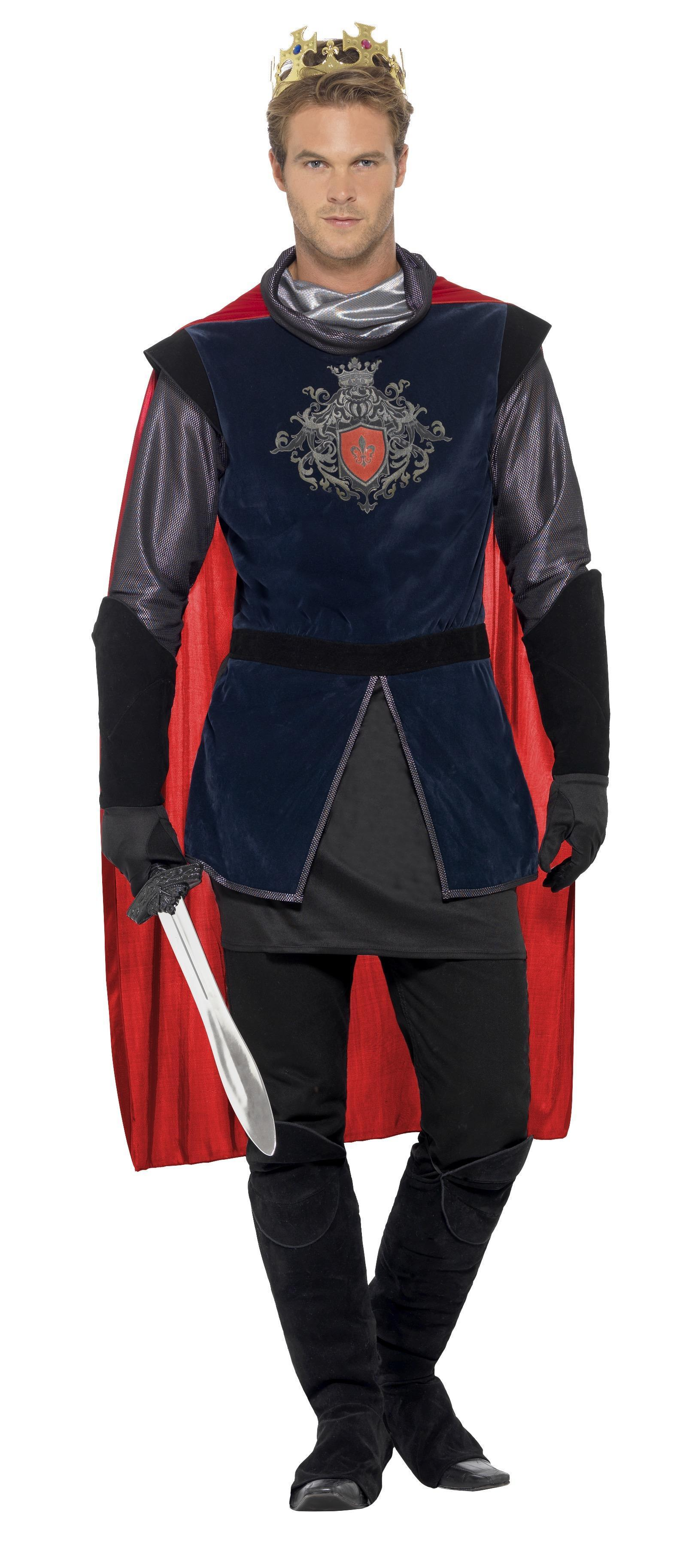 King Arthur Deluxe Costume Black