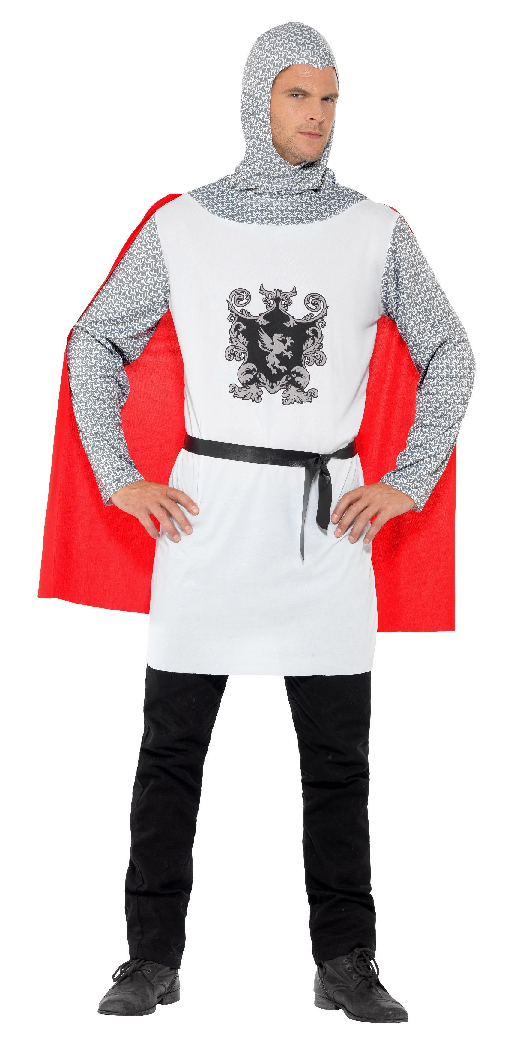 Knight Costume Economy White