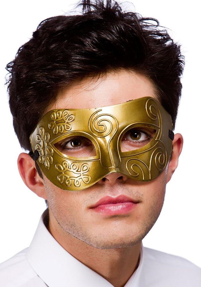 Rome Eye Mask Gold