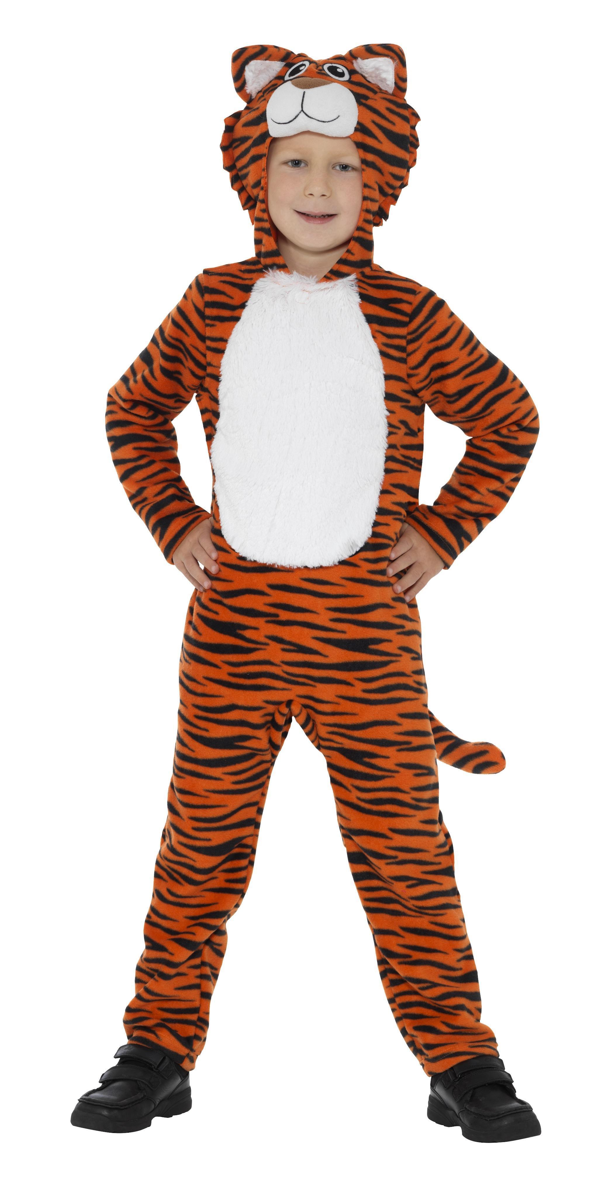 Kids Tiger Costume Orange