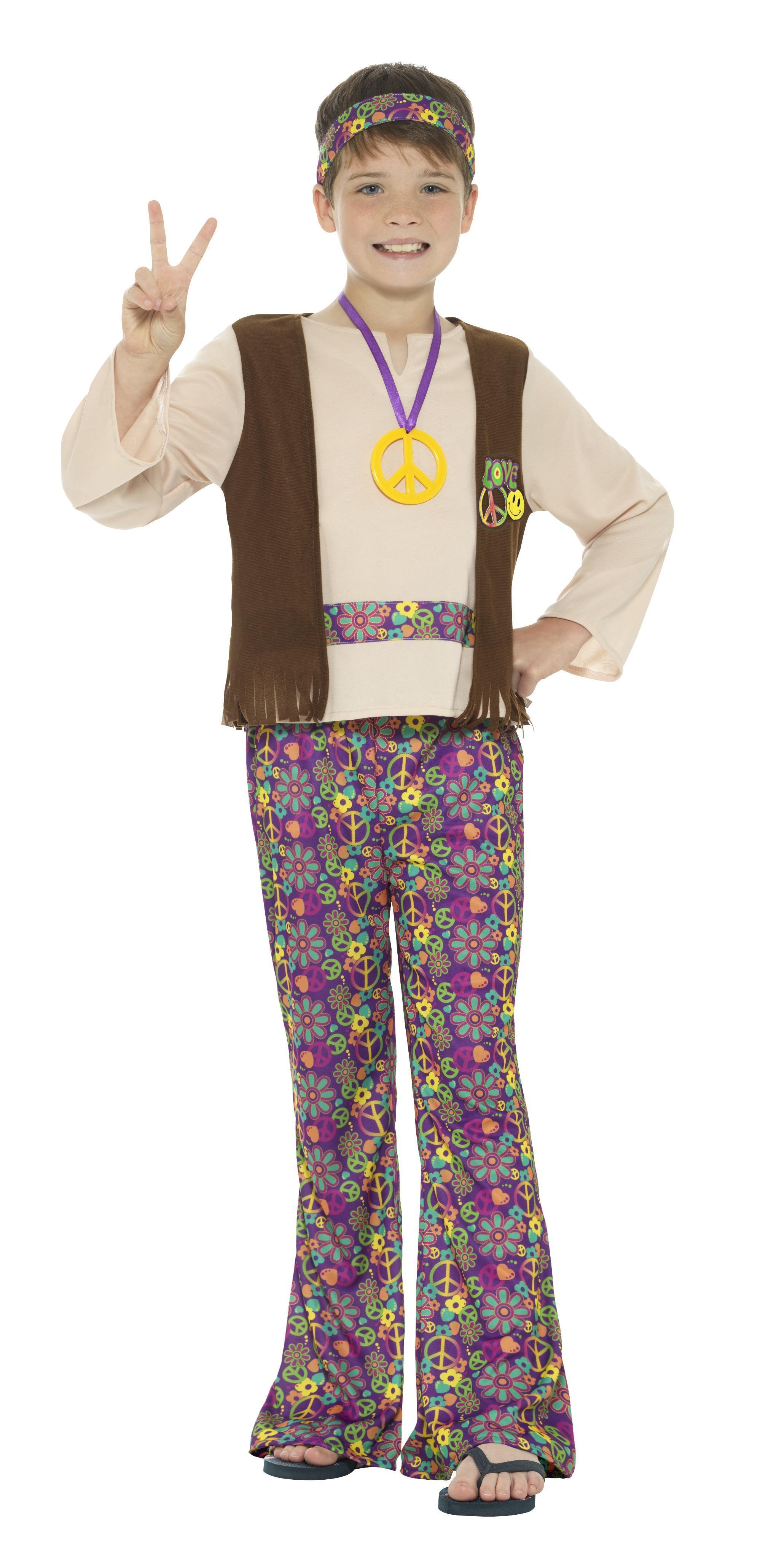 Kids Hippie Boy Costume