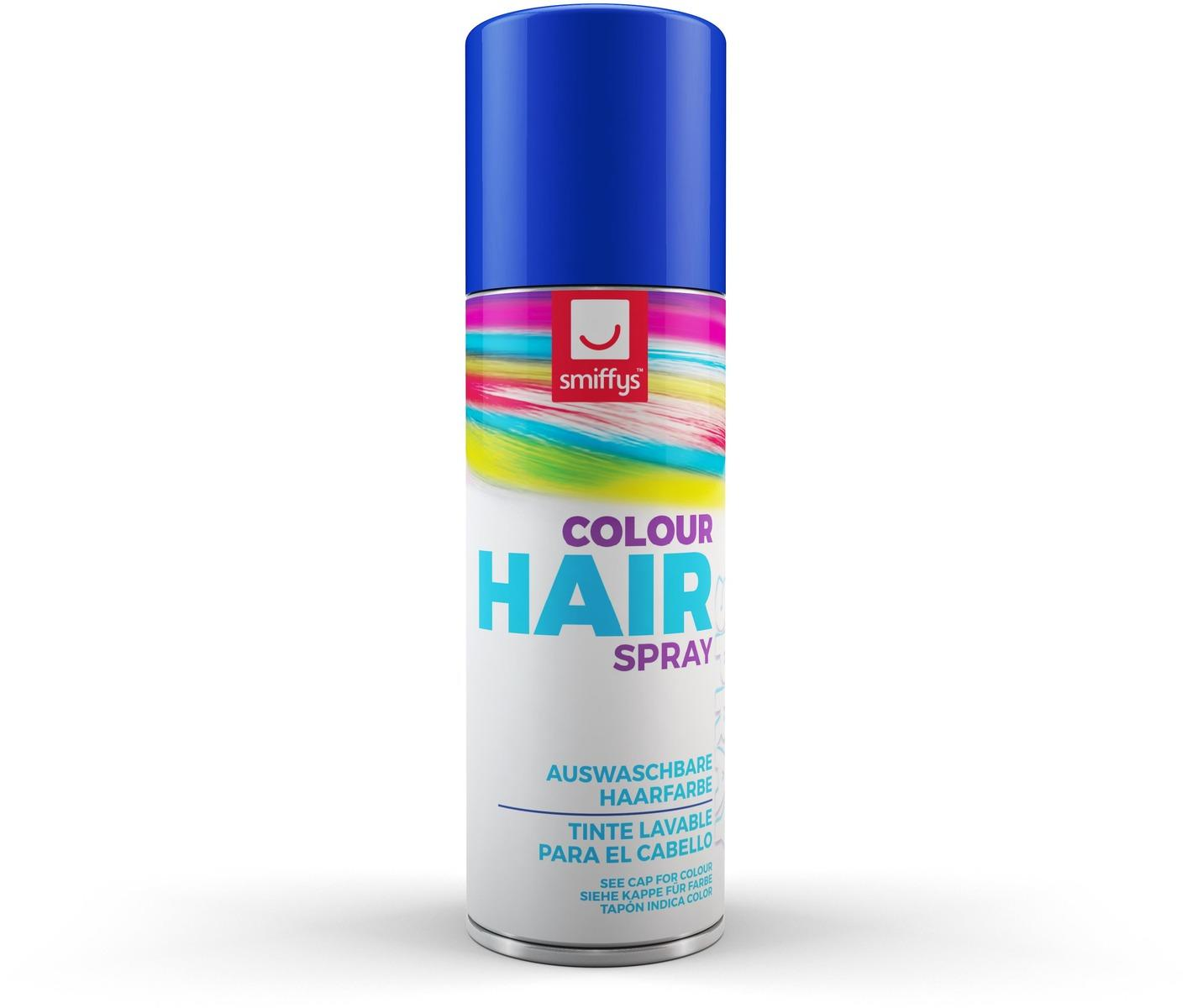 Coloured Hair Spray Blue
