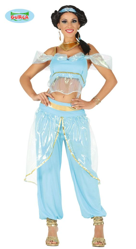 Desert Princess Costume Blue