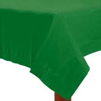 Table Cover Festive Green Rectangle