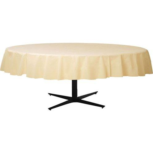 Table Cover Vanilla Cream Round