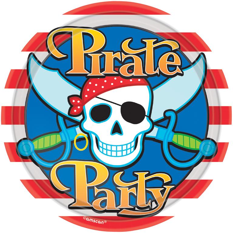 Paper Plates Pirate Party
