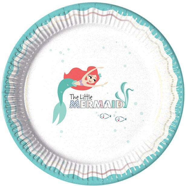 Paper Plates The Little Mermaid