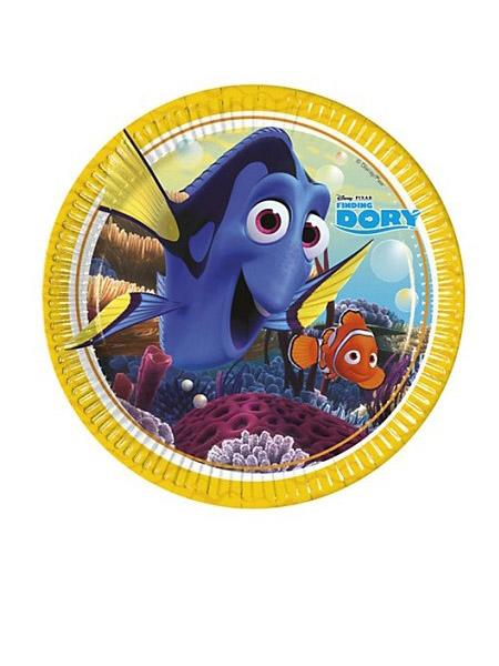 Paper Plates Finding Dory