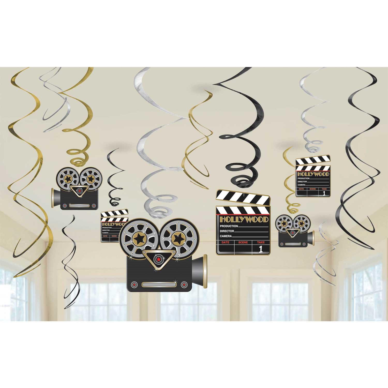 Swirl Decoration Kit Hollywood