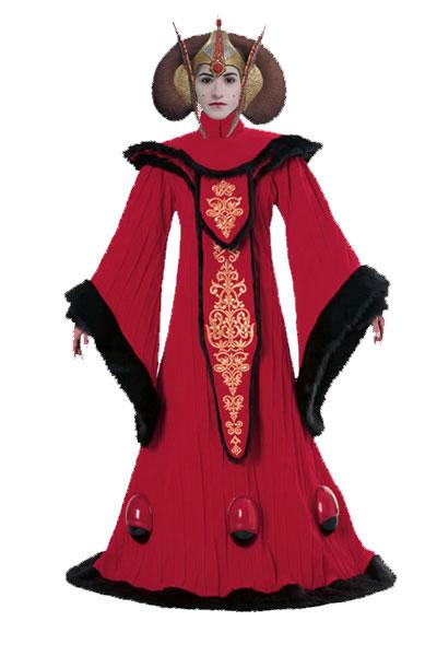Queen Padme Amidla Hire Costume
