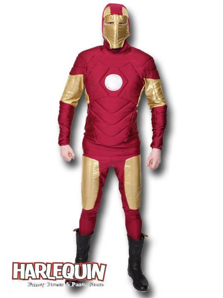 Iron Man Style Hire Costume