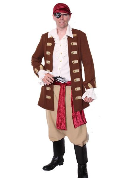 Pirate Man Style 1 Hire Costume
