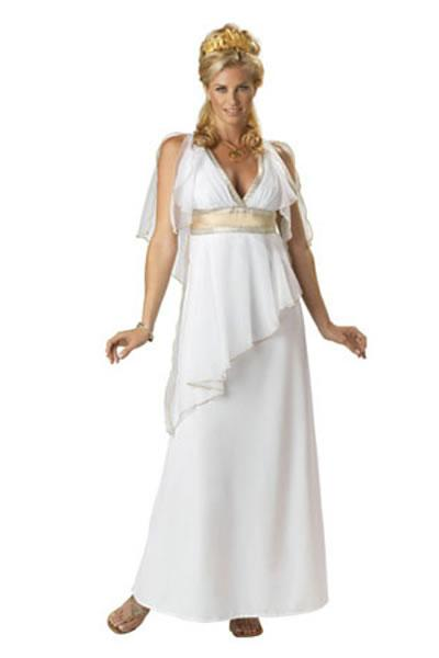 Grecian Goddess Hire Costume