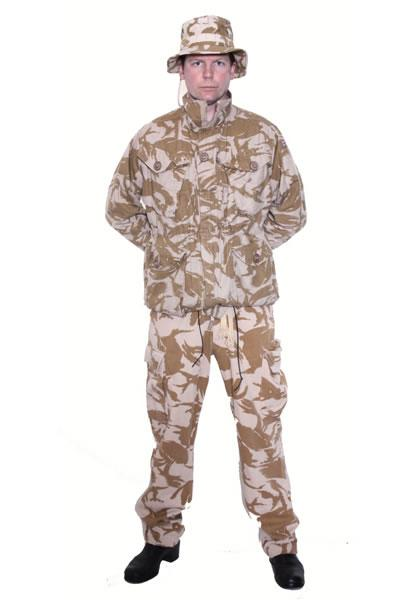 Desert Camo Hire Costume Mens