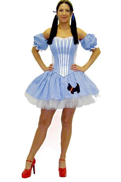 Sexy Dorothy Hire Costume