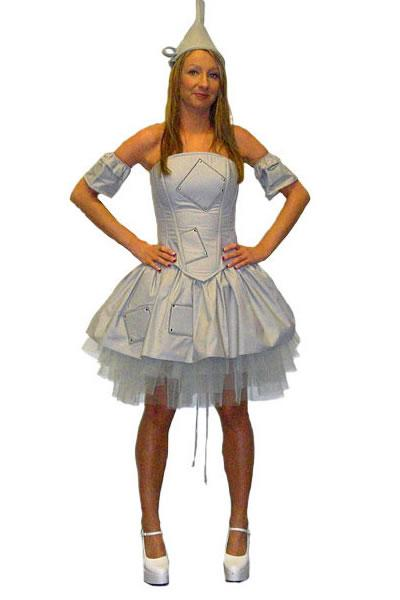 Sexy Tin Man Hire Costume