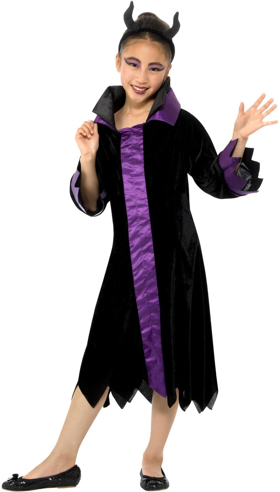 Kids Evil Queen Costume