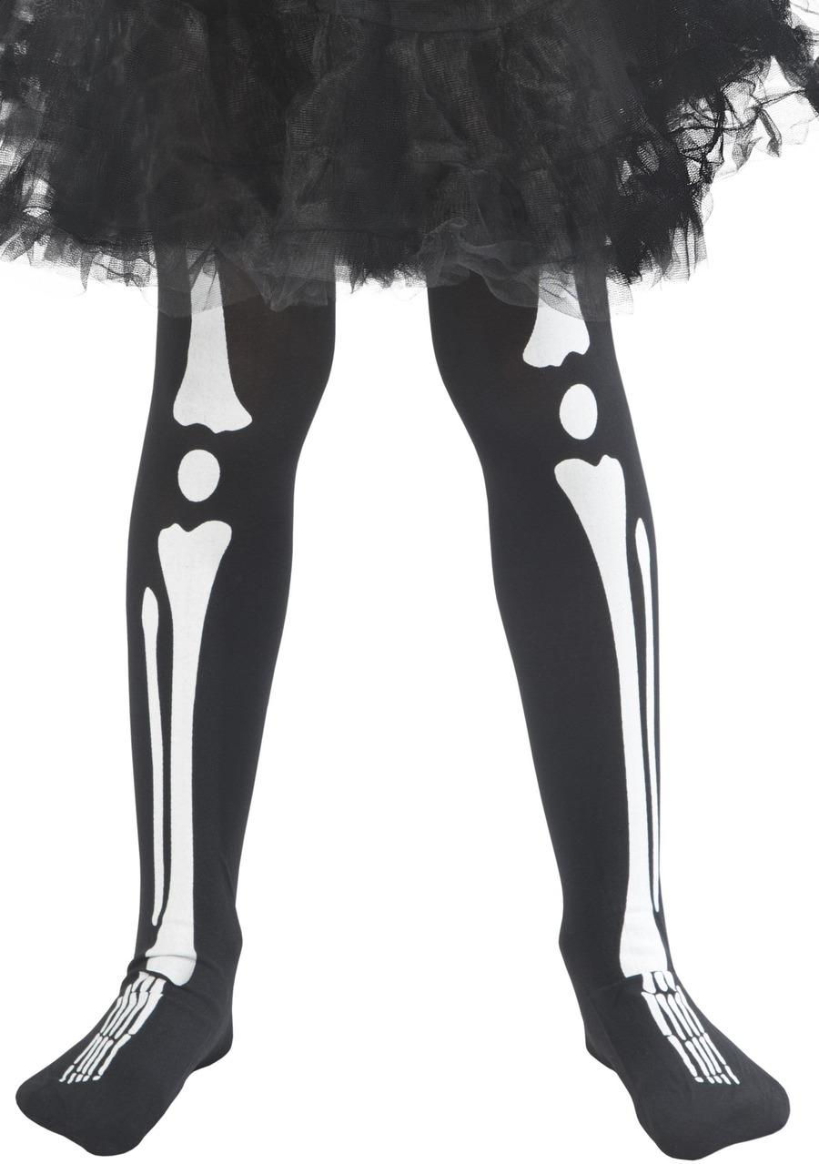 Kids Skeleton Tights