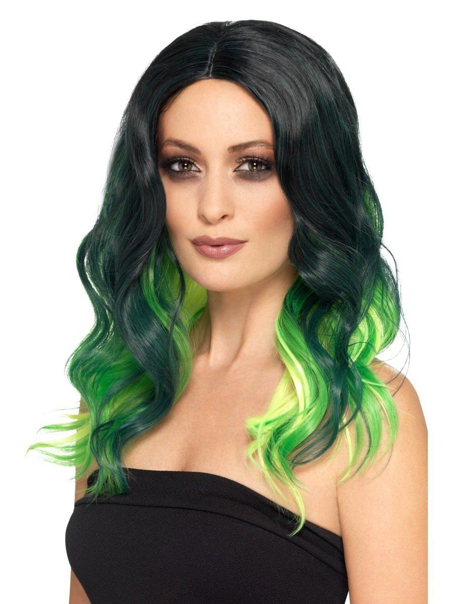 Deluxe Ombre Wig Green