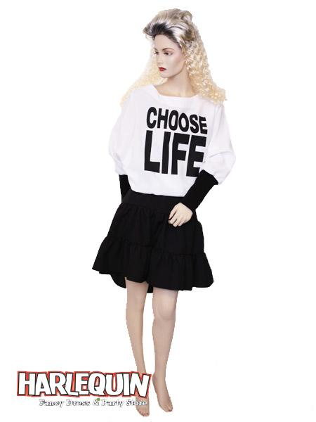 1980s Choose Life Hire Costume