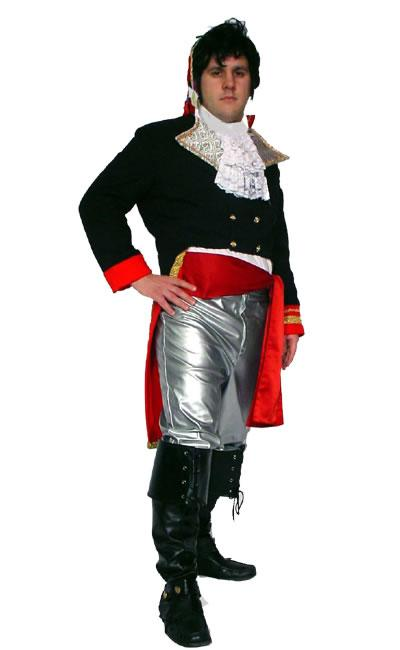 1980s Adam Ant Prince Hire Costume