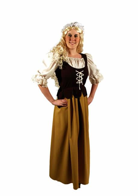 Medieval Wench 8 Hire Costume