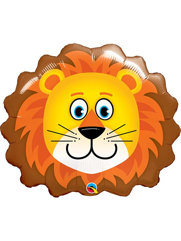 Foil Balloon Loveable Lion