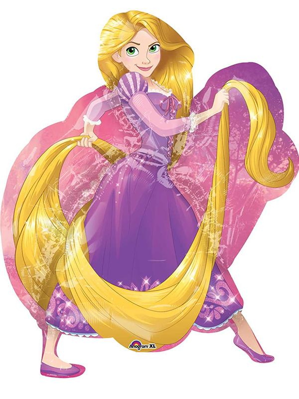 Foil Balloon Disney Rapunzel Supershape