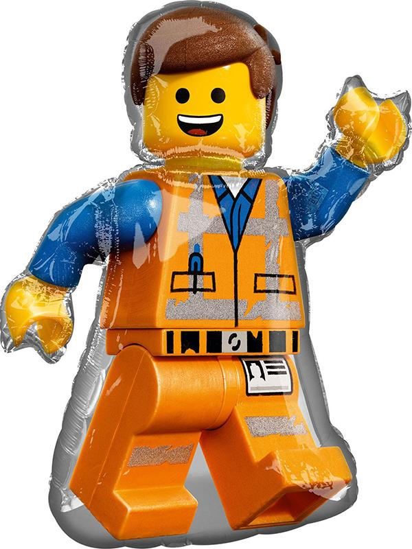 Foil Balloon Lego Movie 2